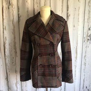 Multi color Pea coat